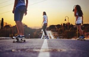 Sloggi-Skateboarding