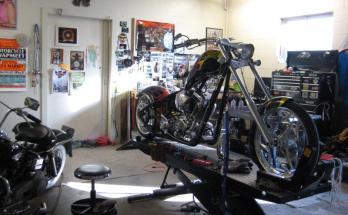 motociklų serviso įranga