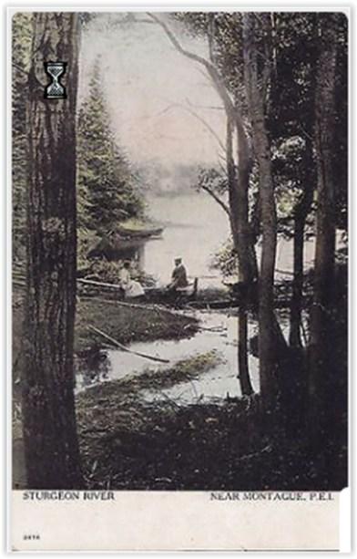 #2476 Sturgeon River Near Montague, P.E.I.