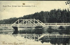 Dunk River Bridge near Smmerside P.E.I.
