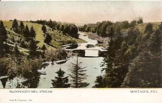 #2446 MacDonald's Mill Stream Montague, P.E.I.