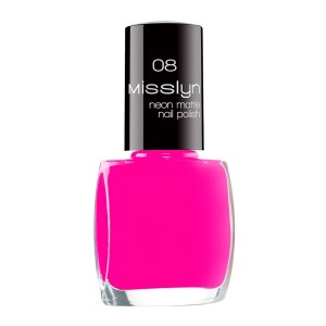 misslyn neon matt nail polish fluorescent paint