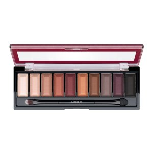 misslyn must have eyeshadow palette shades of burgandy (open)