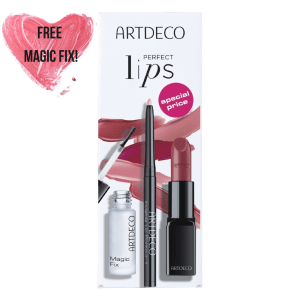 artdeco perfect lips gift set perfect rosewood