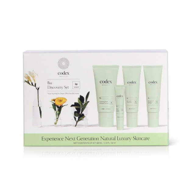 codex beauty bia discovery set (box)