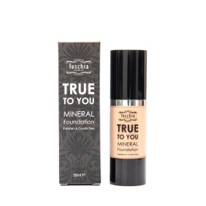 fuschia true to you mineral liquid foundation no 2