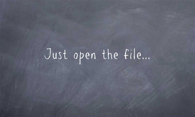 Just-open-the-file