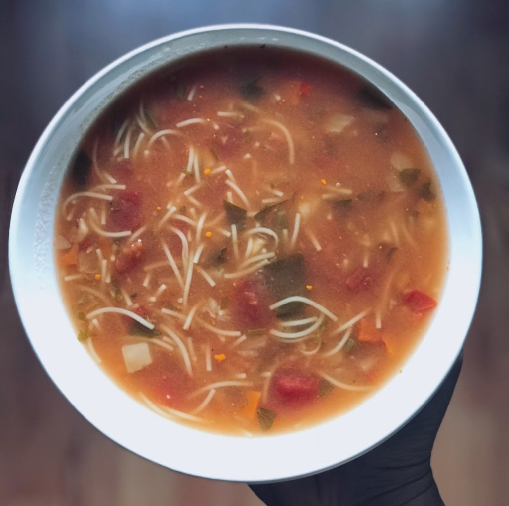 Plant based vegetable soup