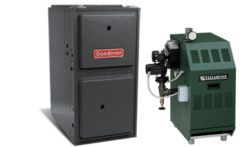 Goodman Heating Equipment installation by Stramowski Heating, Inc. in Oak Creek & Milwaukee, WI
