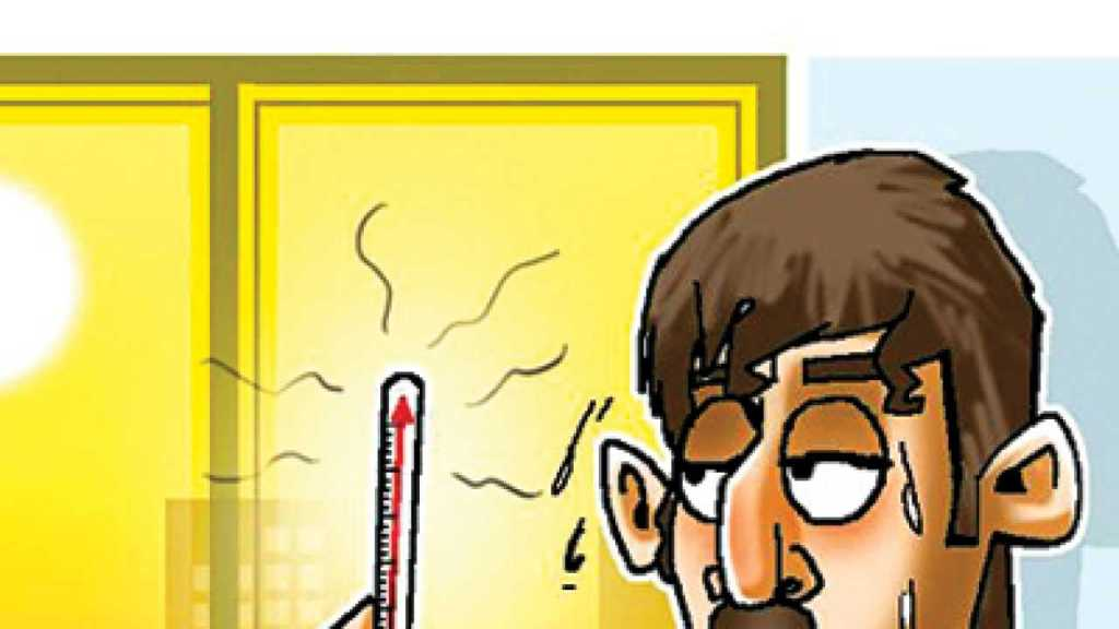 Rising temperature cartoon