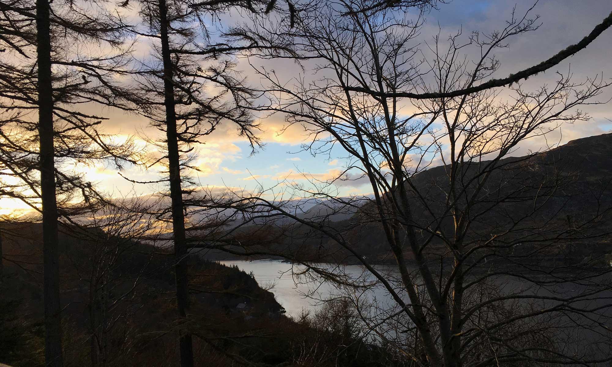 Abendstimmung am Loch Carron