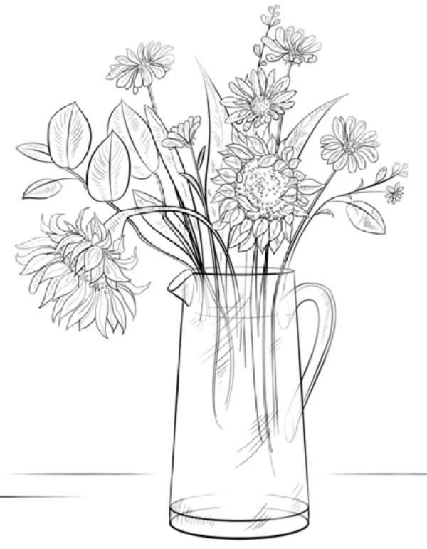 пиролизного котла картинка цветы нарисовать в вазе что нужно жля
