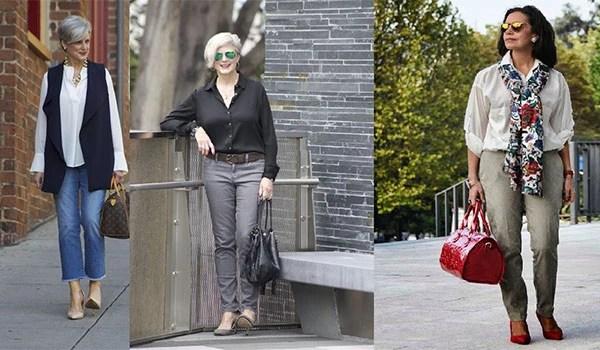 7a30709fb2 Urobte správny šatník a vyzerajte štýlovo za 50 rokov pod silou takmer každej  ženy. Hlavná vec v tomto podnikaní - túžba