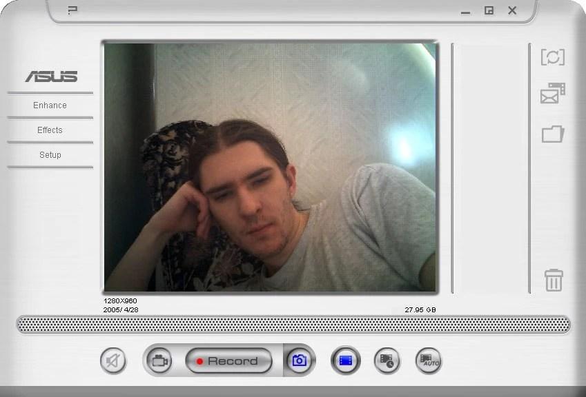 Как сделать фото через камеру ноутбука