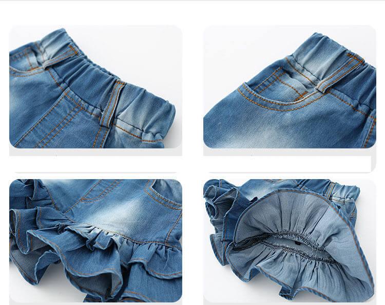 menjahit rok dari jeans lama rok denim