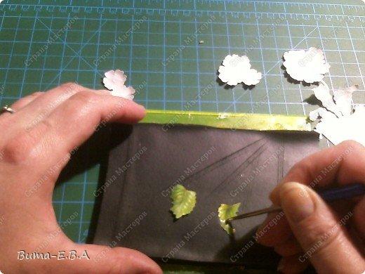 Master class, artesanato, Applique produto, corte, Decoupage: Como posso fazer volume de decoupage (3-D) papelão MK, Scotch 8 de março, Dia das Mães, aniversário.  Foto 7