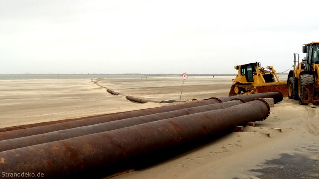 rohreamstrand - Mehr Sand für den Strand