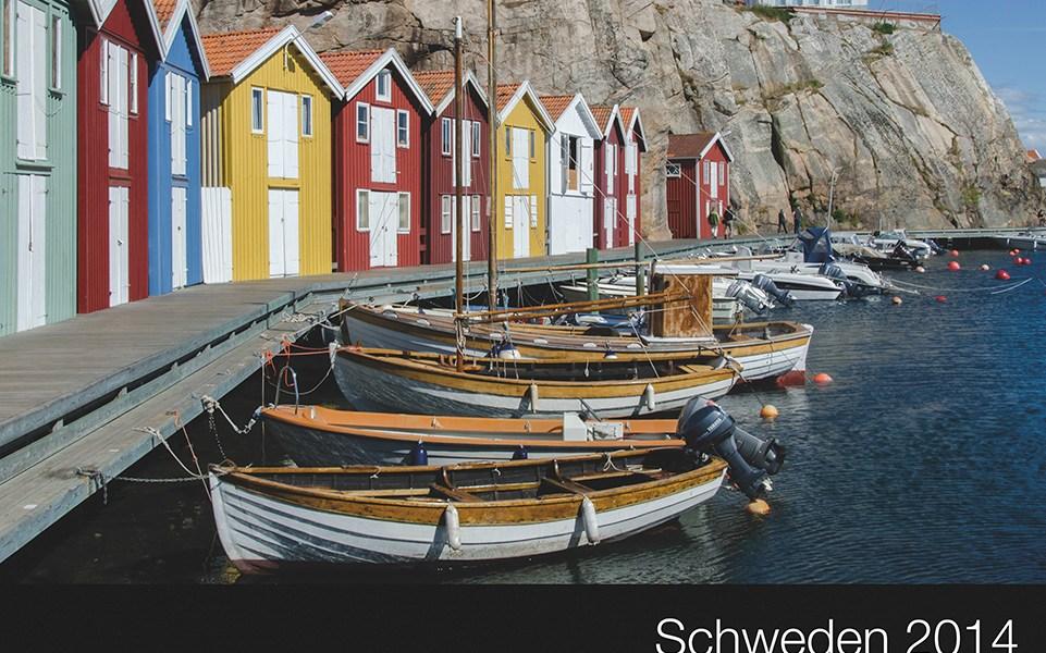 schweden2014 seite 01 - Schweden Fotobuch 2014