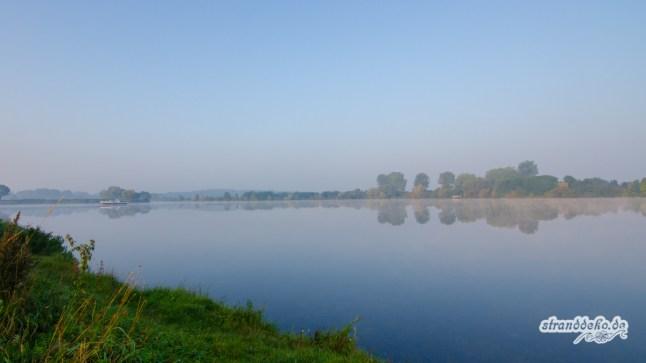 170924 LeukerMeer Morgen 005 - Herbstwochenende an der Maas