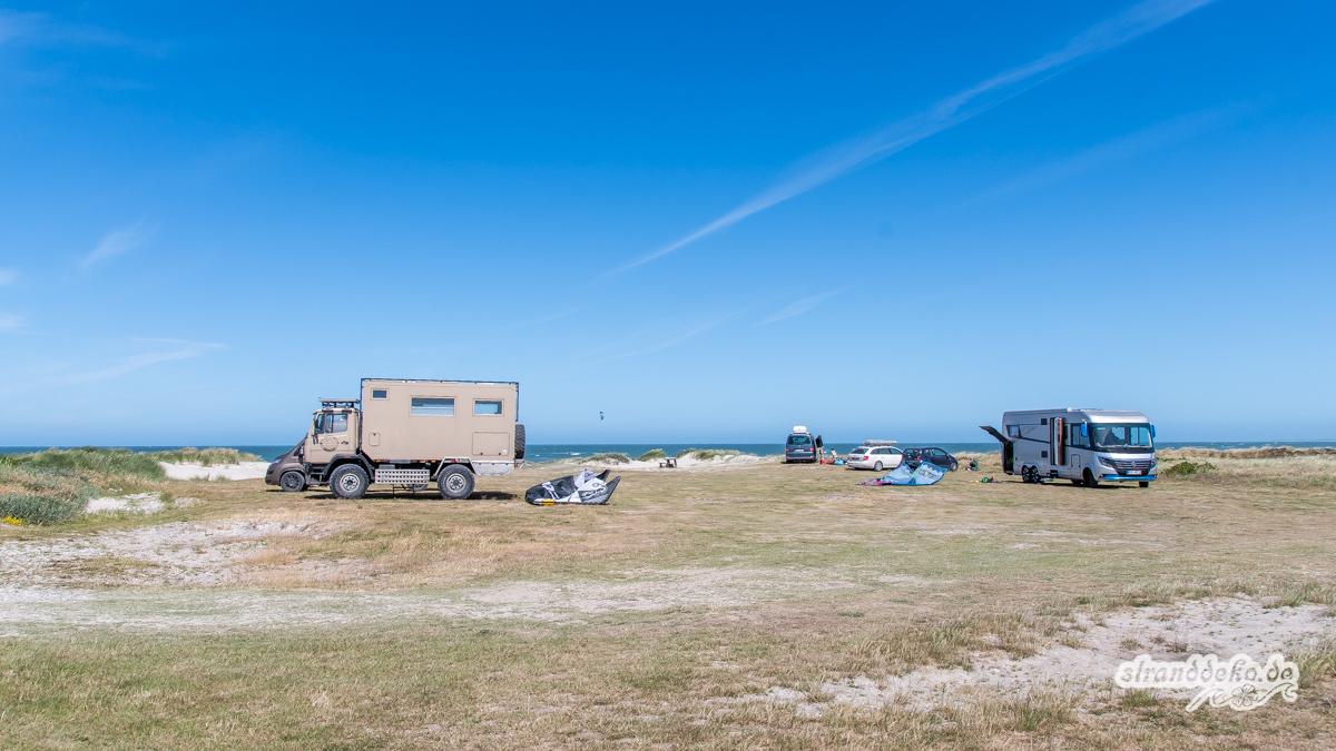 Kitespot Vigsö 715 - 6 Kitespots der Dänemark Tour