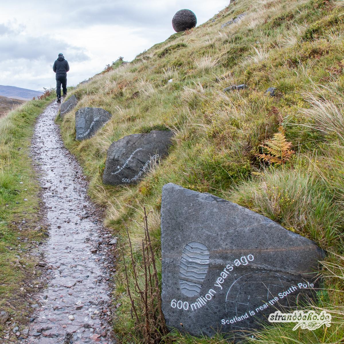Schottland V 995 - Schottland - V- Wandertage in Wester Ross