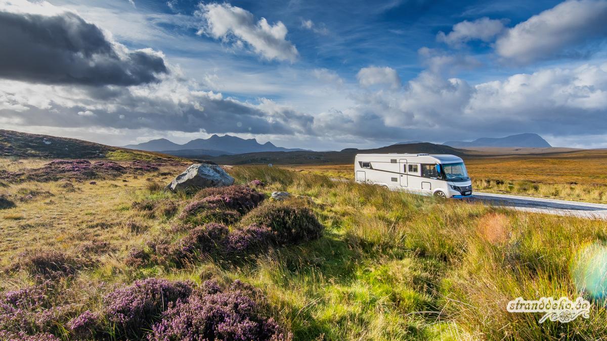 Mit dem Wohnmobil durch Schottland - der Überblick - Stranddeko