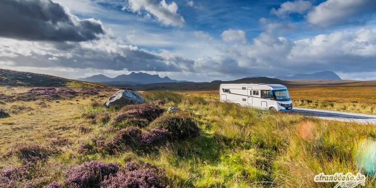 Schottland VIII  - Mit dem Wohnmobil durch Schottland - der Überblick