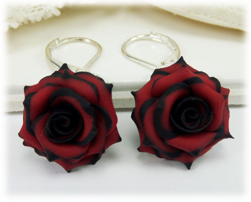 White Roses Sterling Silver