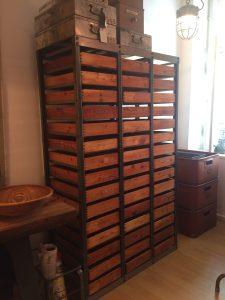 Schubladenschrank, Industriemöbel