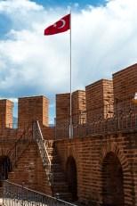 Fra det røde tårn og festningsverkene i Alanya