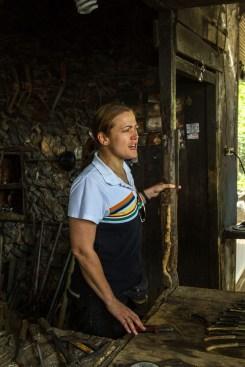 Vår danske guide Sophia. Hun var meget dyktig.