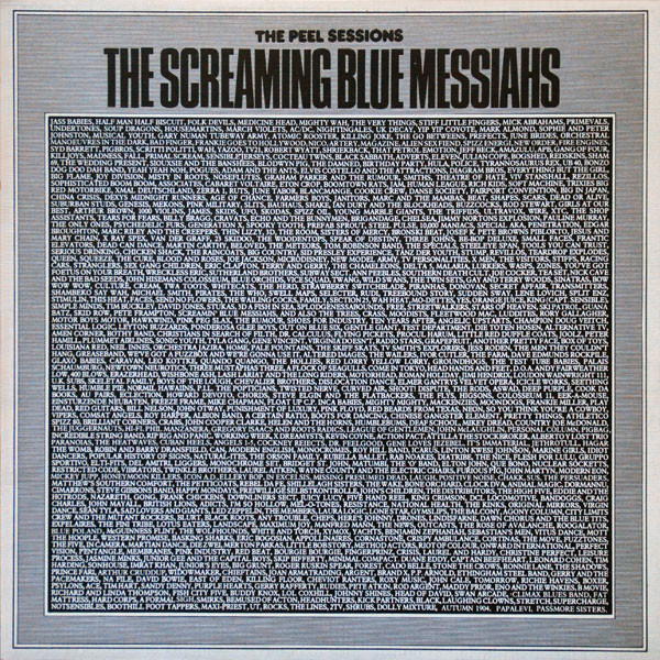 Peel Sessions Screaming Blue Messiahs