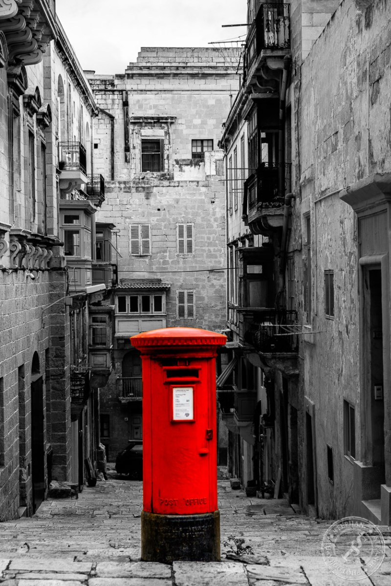 Postbox Valletta Colorkey