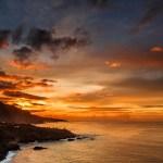 Sonnenuntergang in Los Realejos