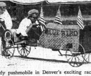Pushmobiles in the Early 1900s