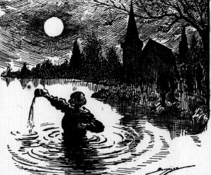Moon Superstitions Reported in 1920