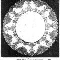 Crochet Doily In Filet Mesh From 1912