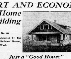 Two To Four Bedroom House Plans From 1920