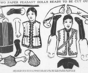 Bulgarian Peasant Paper Dolls