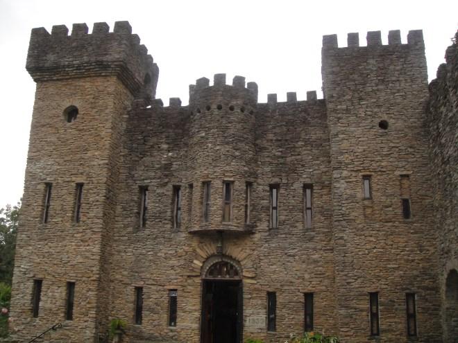 Closeup of Loveland Castle