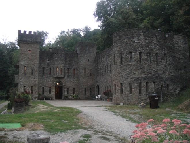 Exterior of Loveland Castle