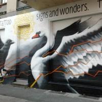 Fassadenkunst aus der Berliner-Samariterstr
