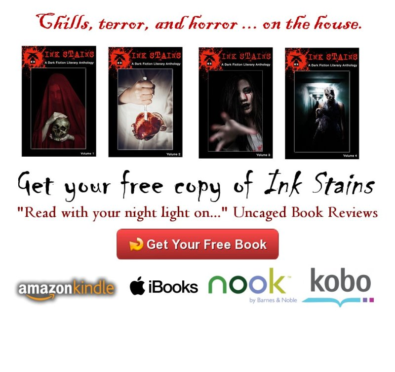 Get a free copy of Ink Stains Dark Fiction and Horror Anthology
