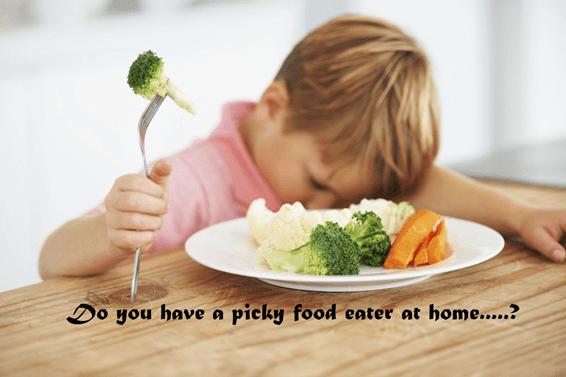 Vitamins picky foods
