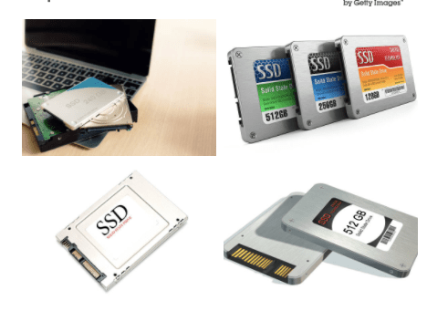 SSD and HDD