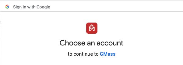signin Gmass