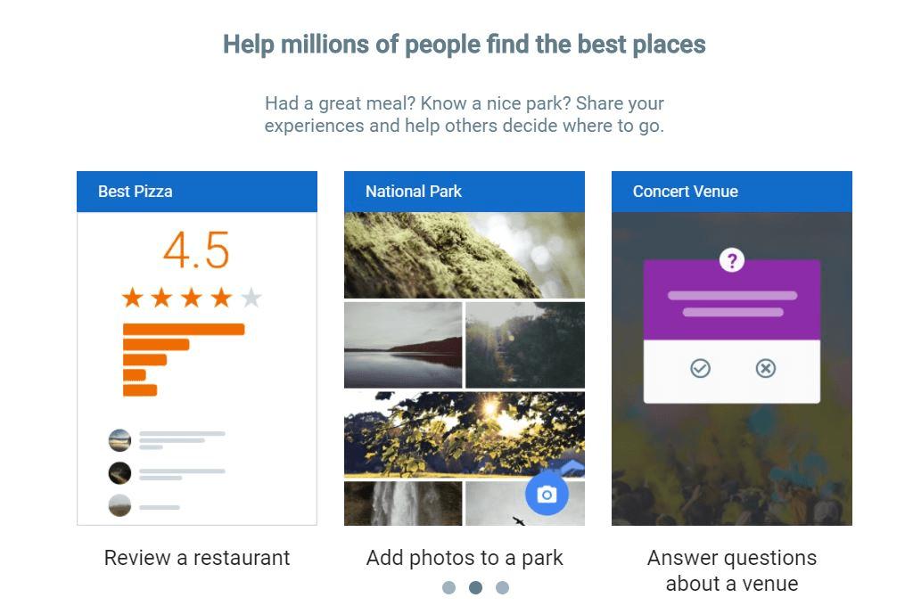 Google maps helps