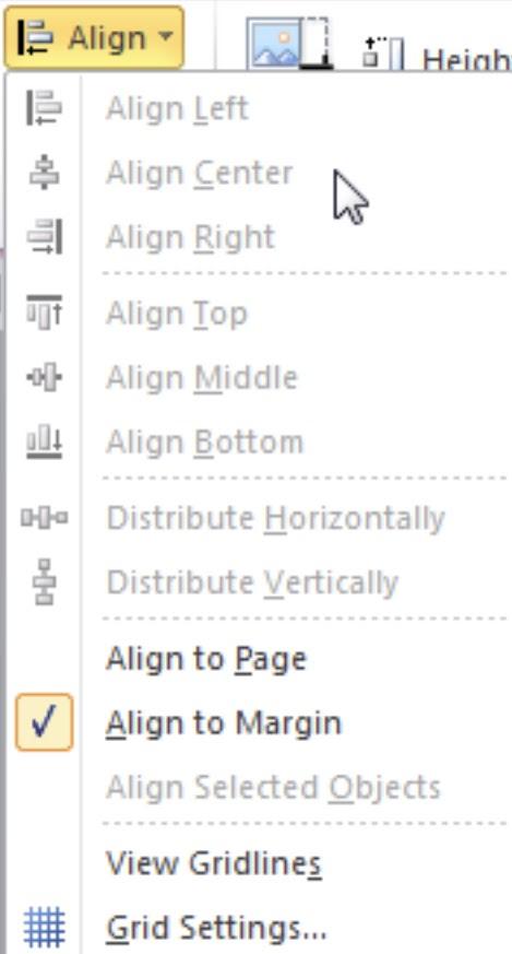 Align Picture