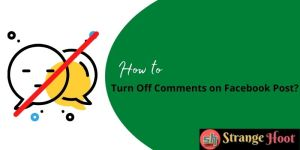 Turn Off Comments on Facebook Post