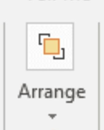 arrange option